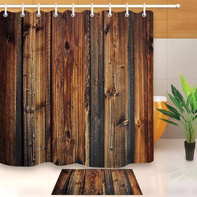 "72x72/"" Beach Yellow Car Surf Board Waterproof Fabric Hooks Shower Curtain Liner"