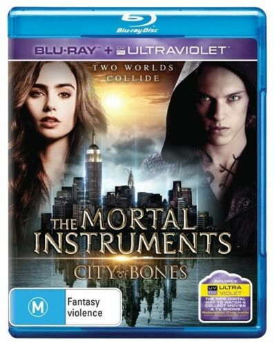 1 of 1 - The Mortal Instruments - City Of Bones (Blu-ray, 2013) New & Sealed