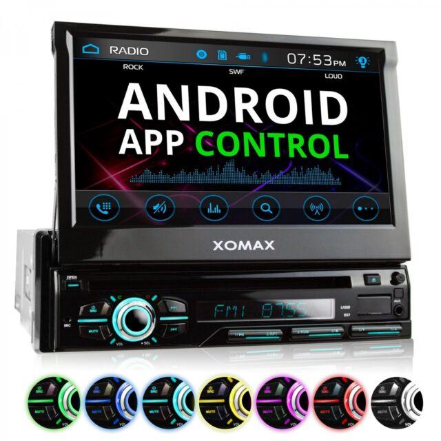 AUTORADIO AVEC BLUETOOTH ÉCRAN TACTILE LECTEUR DVD CD USB SD MP3 AUX SIMPLE 1DIN
