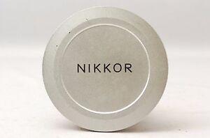 Ship-in-24-Hrs-Rare-Nikon-Nikkor-95N-Chrome-Screw-In-Lens-Cap