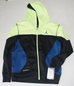74726e4a45afd1 Nike Hoodie Sweatshirt Air Jordan Jumpman Boys M 10 12 Full Zip ...