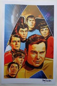 ECCC-2017-STAR-TREK-Lithograph-SIGNED-by-TONY-SHASTEEN