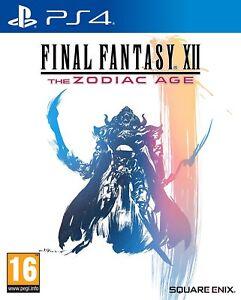 PS4-Jeu-Final-Fantasy-12-XII-The-Zodiaque-Age-Produit-Neuf