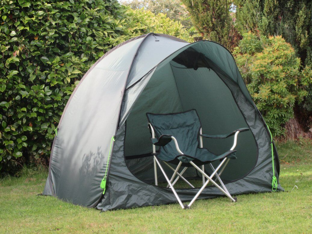 FAST & ERECT FISHING TENT SPORTS BIVVY POPS UP & FAST DOWN IN SECONDS b48280