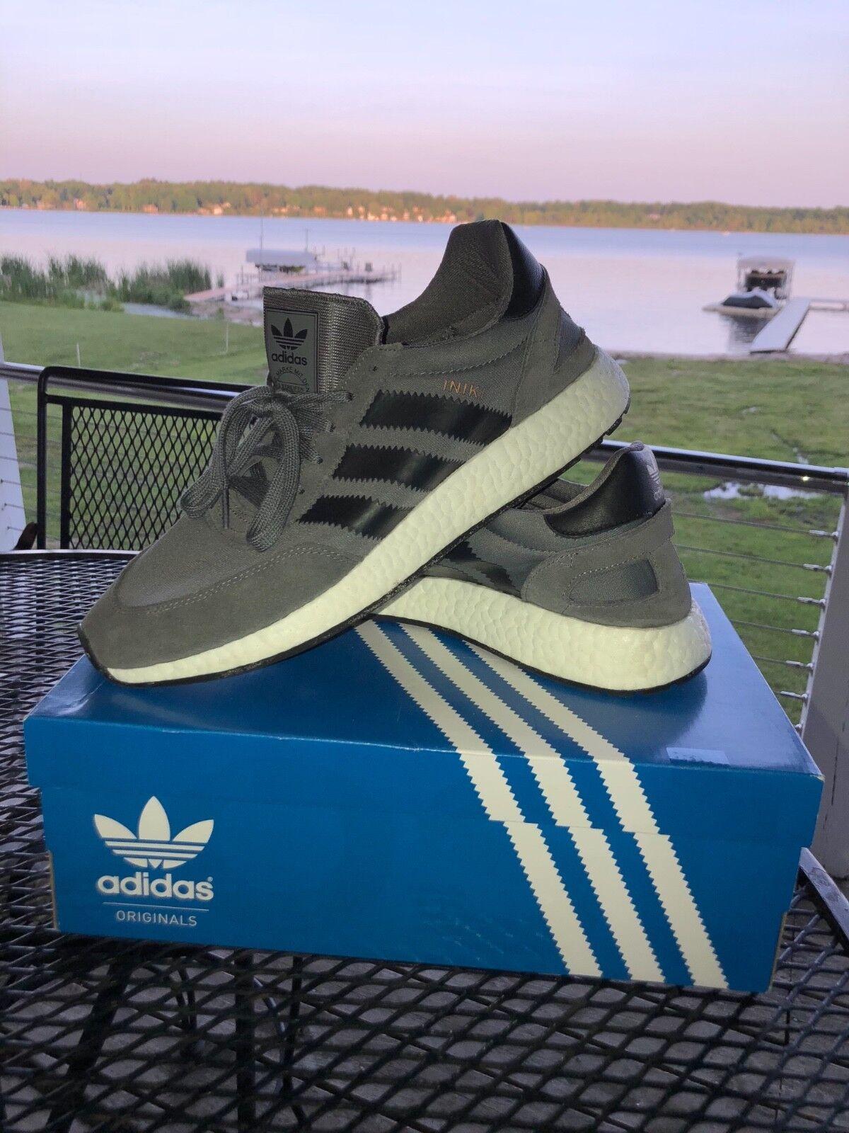 Adidas Iniki runner boost, size 12, Grey