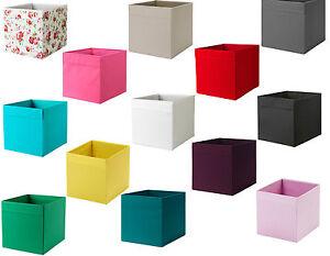ikea drona box fabric storage expedite kallax shelving. Black Bedroom Furniture Sets. Home Design Ideas