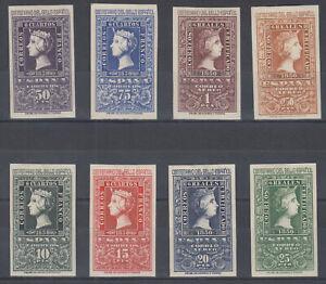 Serie-Centenaire-de-Timbre-1075-1082-Annee-1950-Complet