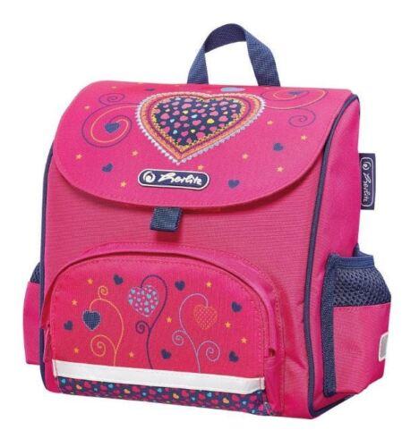 """herlitz Vorschulranzen Mini Softbag /""""Pink Hearts/"""" Herz Kinderrucksack Tasche"""