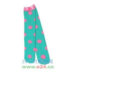 5 Colors Cute Dots Baby Kids Children Girls Princess Long Socks Leggings
