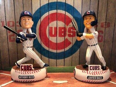 Javier Baez #9 Chicago Cubs Youth Blue Strideline Socks