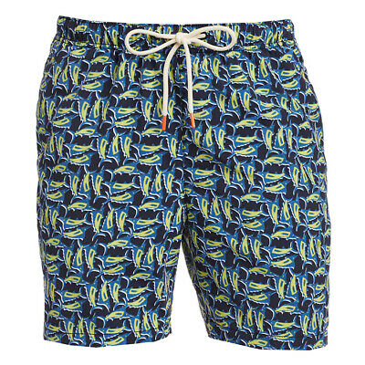 Tommy Bahama Naples Tiki Luau Board Shorts Drawstring Swim Suit