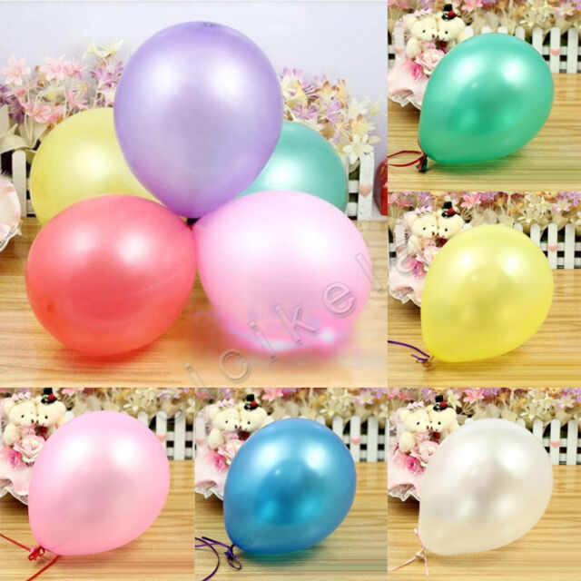 Wholesale 20/50/100Pc Latex Balloons Birthday Wedding Party Decor Supplies 10""