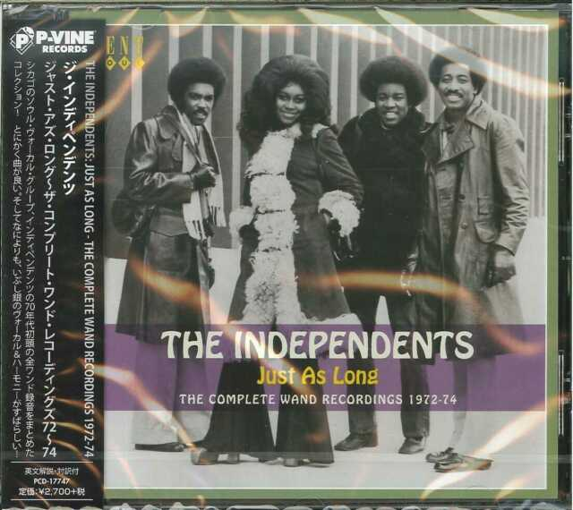 INDEPENDENTS-JUST AS LONG-Import CD w/JAPAN OBI  G09