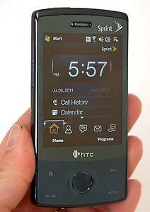 htc xv6950 touch diamond sprint network cdma smart phone cell rh ebay com Sprint HTC Innovation Sprint HTC EVO Design 4G