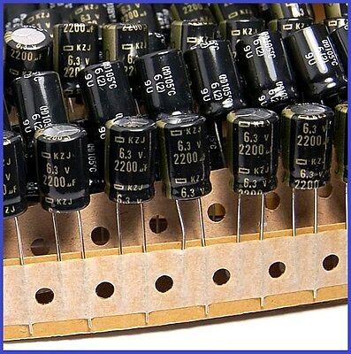2200UF 6.3V SANYO RADIAL ELECTROLYTIC CAPACITOR 6.3V2200UF low ESR JAPAN 20PCS