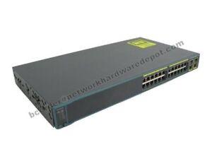 Cisco-WS-C2960-24TC-L-24-Port-10-100-2960-Managed-Switch-1-Year-Warranty