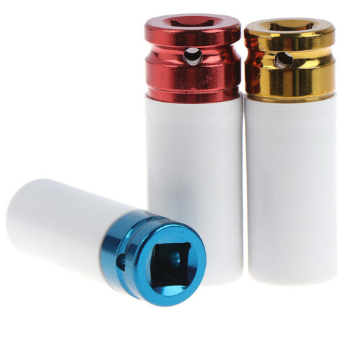 17mm 19mm 21mm Alloy Sleeve Drive Thin Wall Wheel Deep Impact Nut Remover Socket