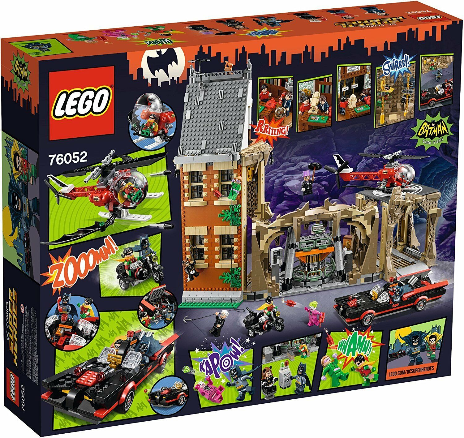Lego Super Heroes 76052 Batman Classic Tv Series Baticueva Nuevo, Sellado.