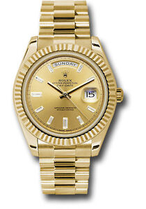 Rolex Day Date President 40mm Yellow Gold Champagne
