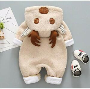 Baby-Boy-Girl-Snowsuit-Fleece-Cartoon-Winter-Warm-Zipper-Jumpsuit