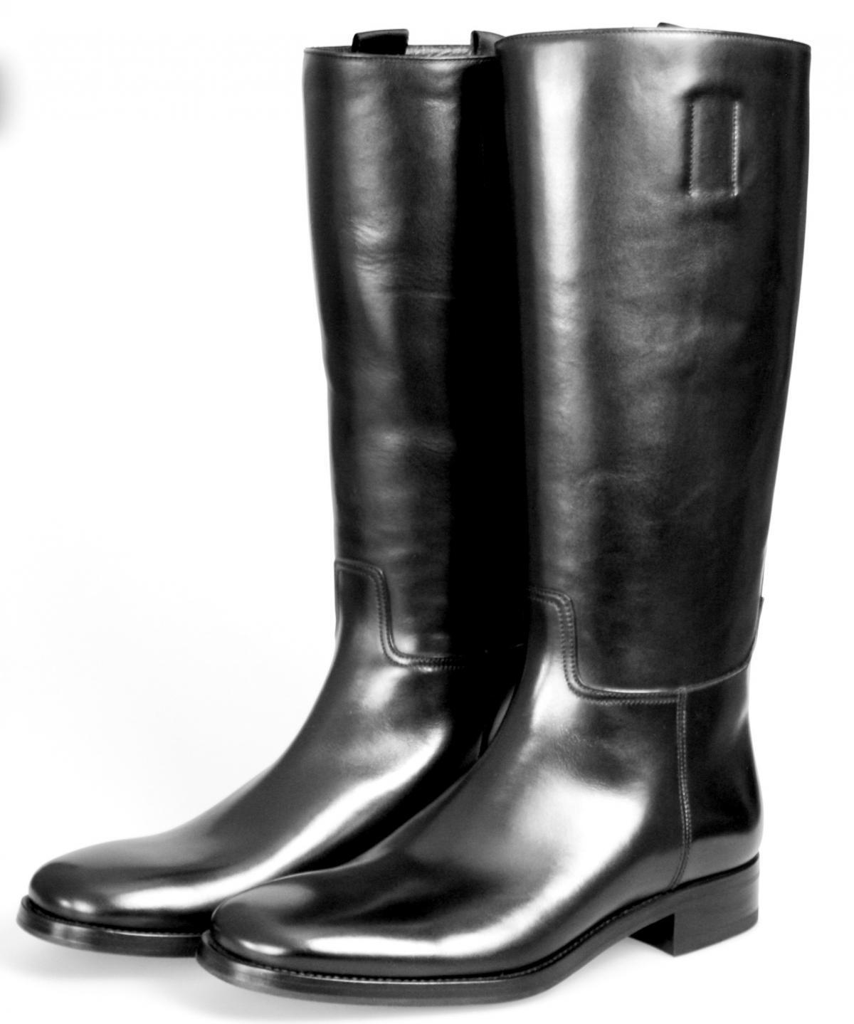 Lujo prada botas clásico 2wa004 negro nuevo New 6 40 40,5