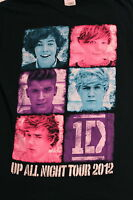 ONE DIRECTION  1D 2012 Up All Night Tour Concert T-Shirt,  Sz.S