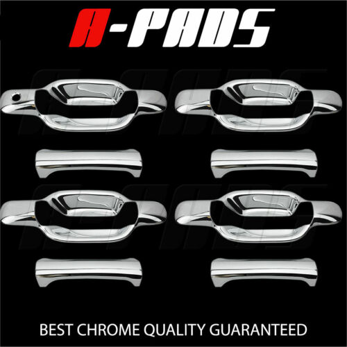 FOR CHEVY COLORADO 04-12 GMC CANYON 04-11 CHROME DOOR HANDLE COVER W// PSKH