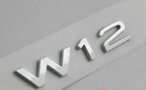 Logo VW W12 Tdi Phaeton Badge Original 3D0853675S 739