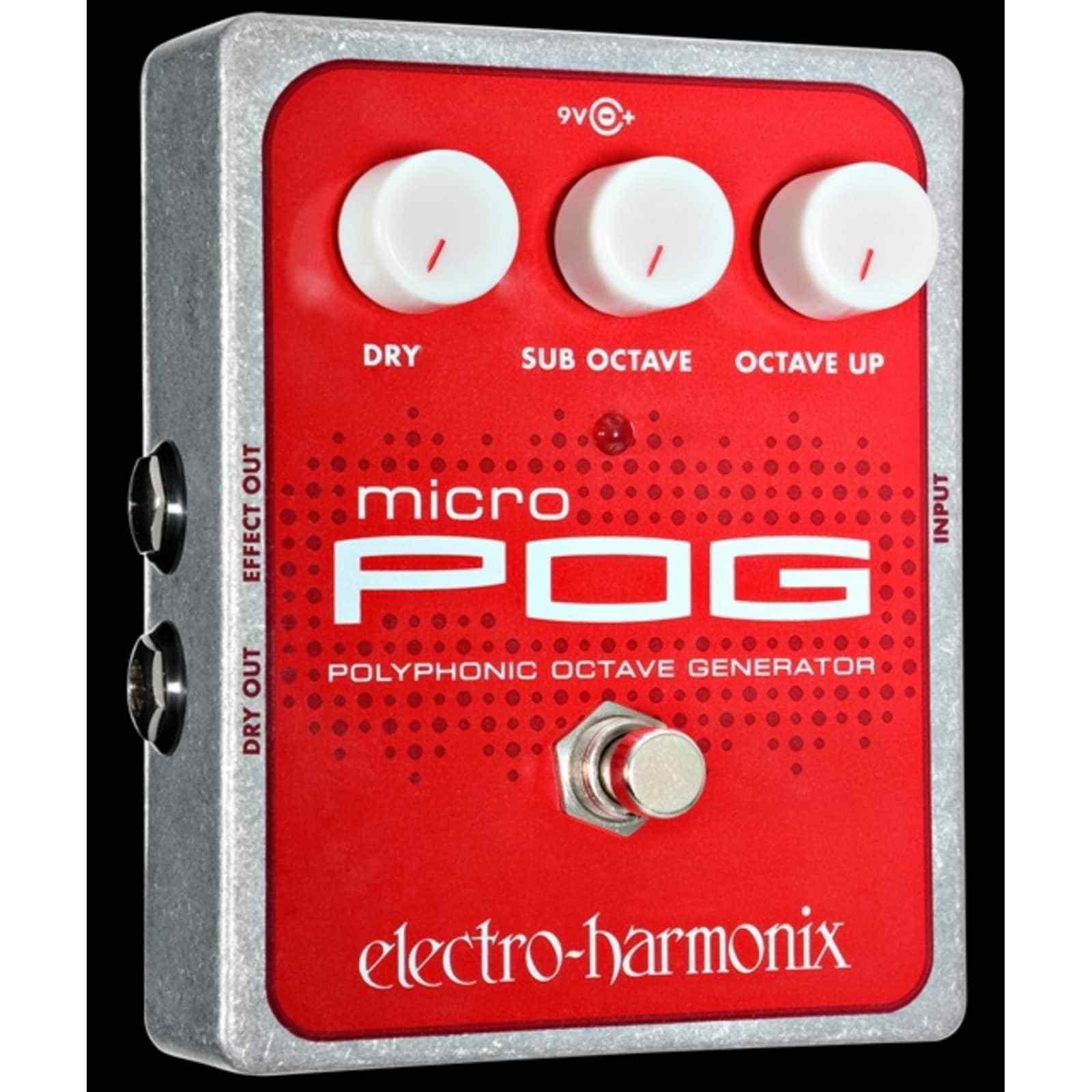 Electro-Harmonix Micro POG - Polyphonic Octave Generator Pedal
