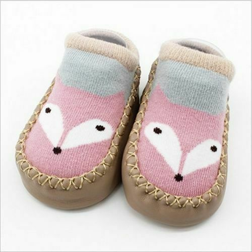 Baby Socks With Rubber Soles Infant Newborn Autumn Winter Children Anti Slip New