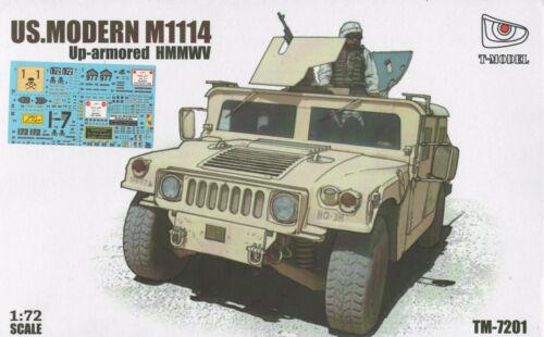 T-Model 1//72 TM-7201 Modern US M1114 Up-Armored HMMWV