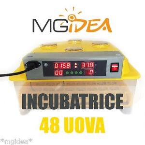 INCUBATRICE-48-UOVA-SCHIUSA-AUTOMATICA-DISPLAY-LCD-KIT-SVEZZAMENTO-incubator