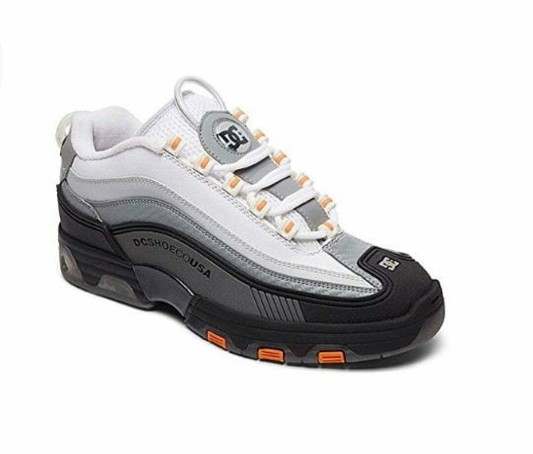 Mens DC (nero (nero (nero Dk grigio bianca) Legacy OG scarpe 578617
