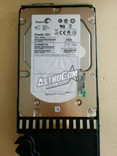 "AJ737A,480939-001,488156-003 HP MSA2 450GB 15K RPM 3.5/"" SAS HARD DRIVE"