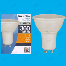 1x 5W GU10 LED Ultra Low Energy Instant On Reflector Spotlight Bulb Light Lamp