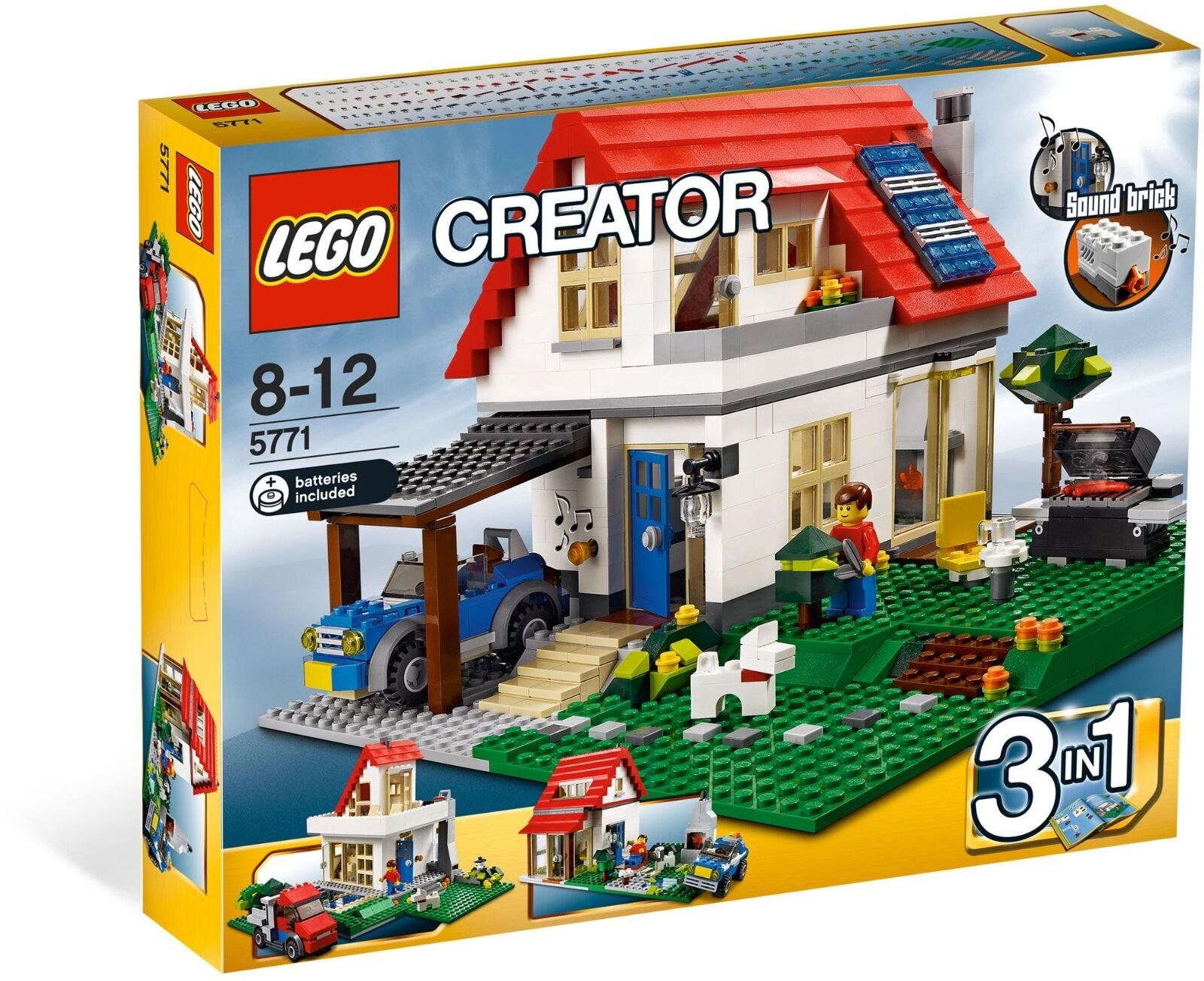 *BRAND NEW* Lego Creator HILLSIDE HOUSE 5771