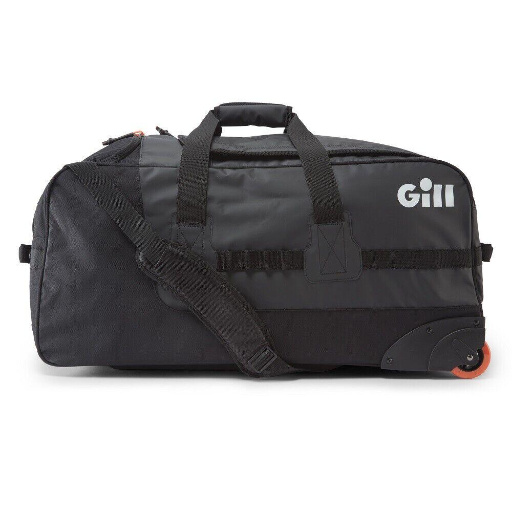 Gill Rolling Autogo Zak zwart 90L wielvervoer met wielige Zakage zeilen