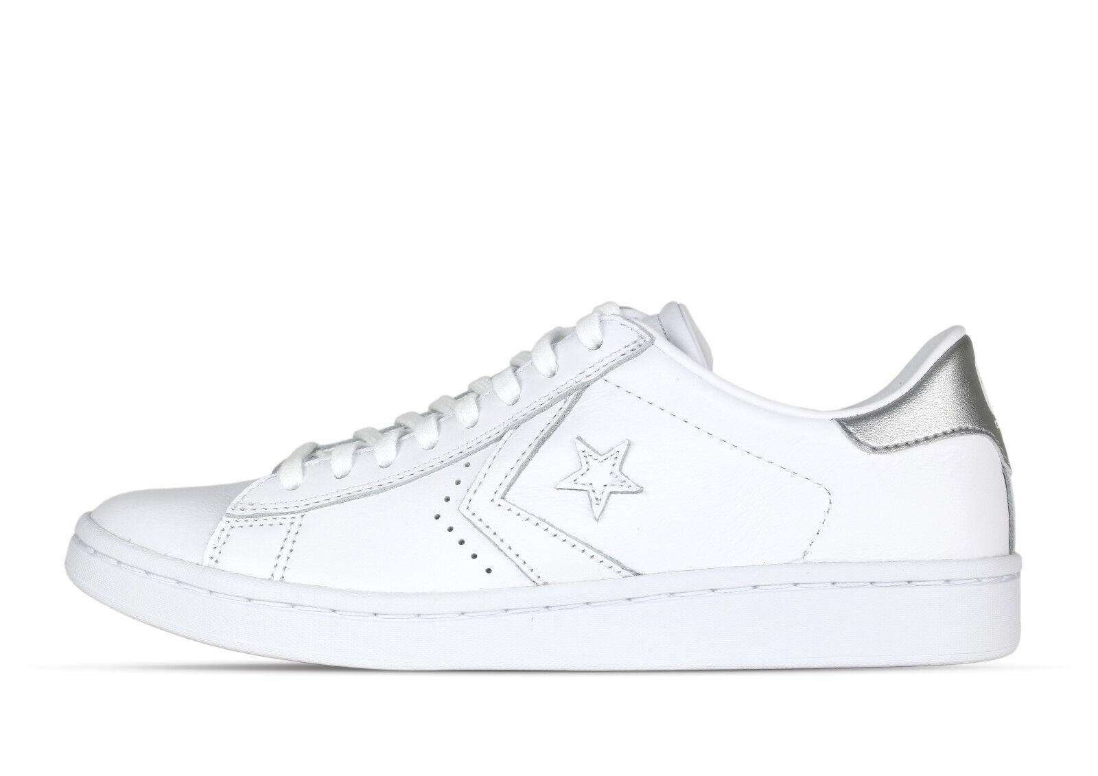 Converse Chucks PL LP OX Bianco 555935C -  - bianco - Donna +nuovo +.
