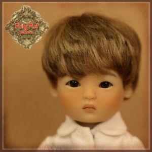 HD0042A-Shan-Yu-Ping-Light-Brown-Mohair-Doll-Wig-Ruby-Red-Galleria