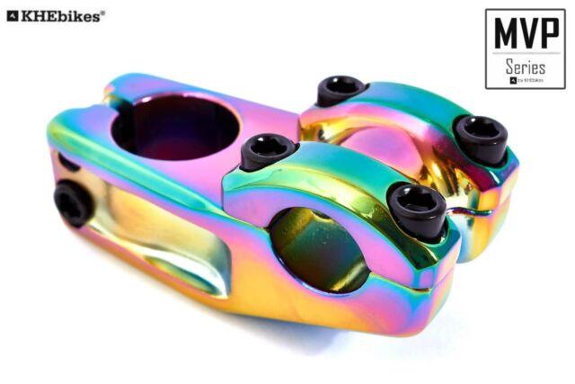 KHE Freestyle BMX Aluminium Vorbau 1 1//8 Toploader 50mm Vorlauf schwarz nur 264g