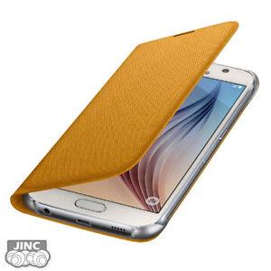 Genuine-Original-Samsung-SM-G920-Galaxy-S6-DUOS-Fabric-Wallet-Cover-Case-Pouch