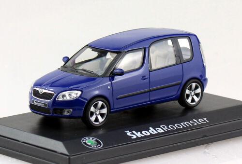 Skoda roomster azul 1:43 Abrex coche modelo ab007l