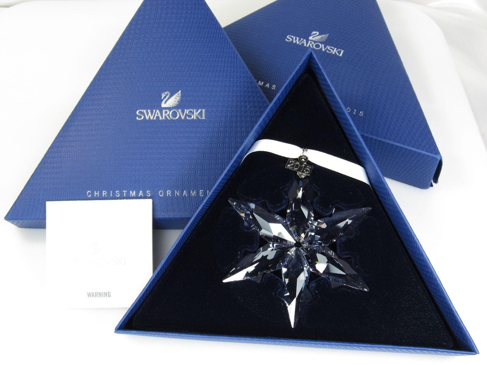 Swarovski weihnachtsstern Christmas ornament 2015 nuevo 5099840