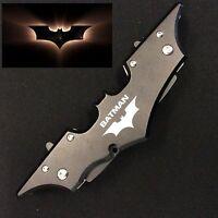 Batman Double Blade Full Metal Folding Pocket Knife