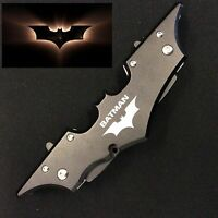 Batman Double Blade Full Metal Folding Pocket Knife