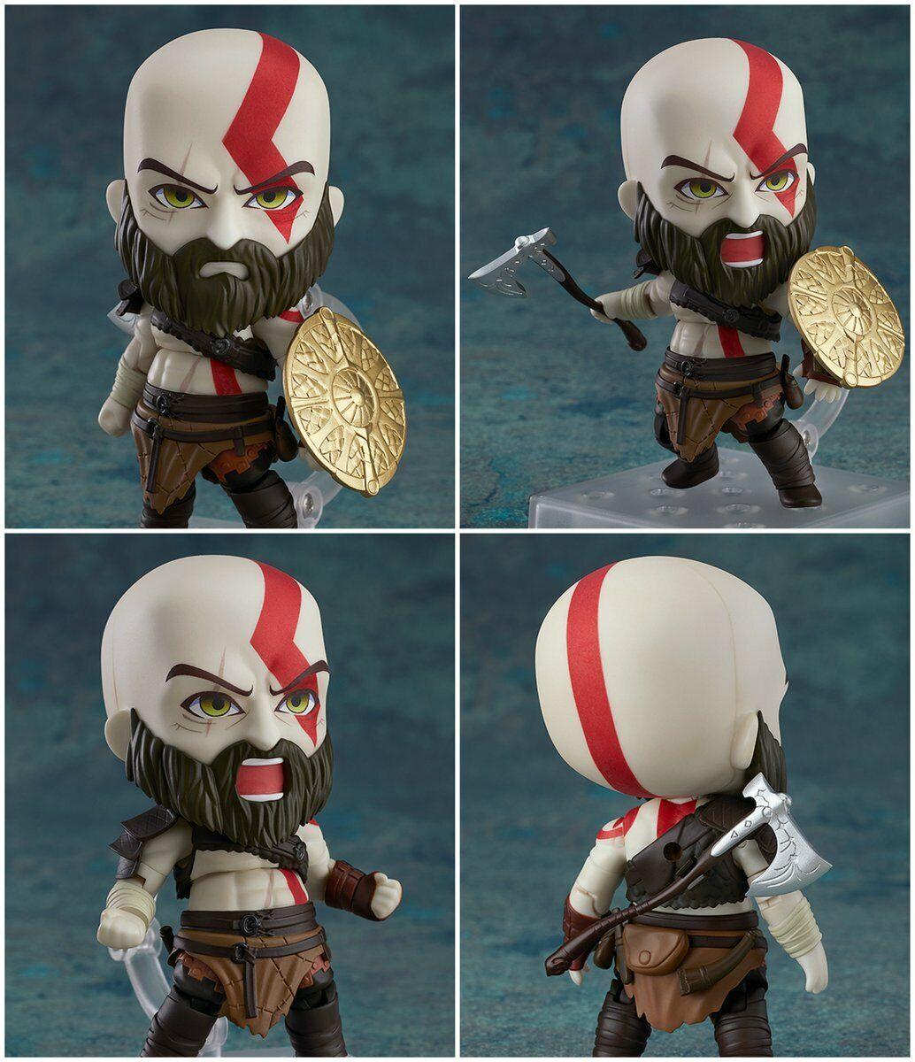 NendGoldid Kratos God of War 925 - Originale Good Smile Complay