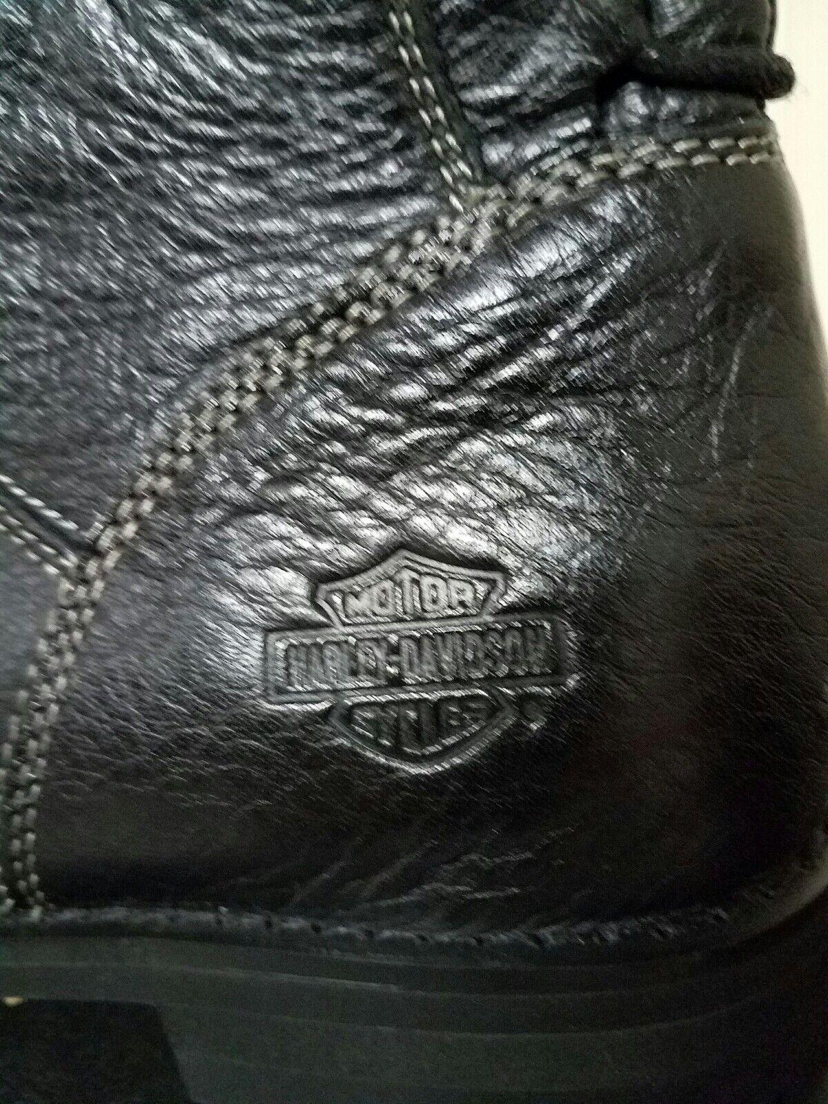 New New New Harley-Davidson femmes bottes, Taille 9.5 medium, noir,  105 bb5303