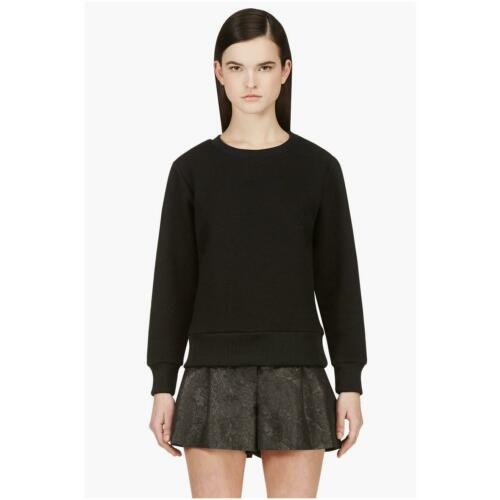 SURFACE TO AIR Women's Jet Black Textured Stelly Sweater NEW