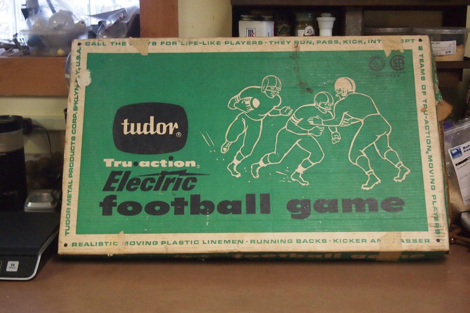 Vintage 50-60's juego de fútbol Tudor Eléctrica Con Caja Original