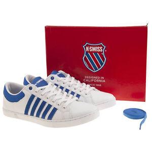 Cuir En Adcourt Taille Blanc Bleu Swiss Baskets 6 Hommes K 72 XuiTwOkZP